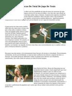 A Origem E A Evolucao Do Total De Jogo De Tenis