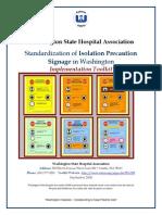 Executive Summary Isolation Precaution Toolkit