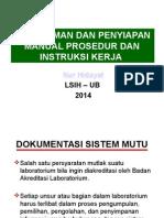 Pemahaman Dan Penyiapan MP Dan IKA