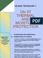 07 Thermal Moisture Prot