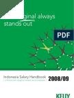Indonesia Salary Survey 2008
