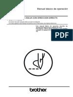 Basic Instruction S7200B BROTHER Manual - Spanish