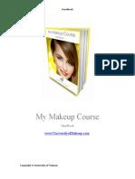 My Makeup Course Handbook