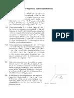 Lista de exercícios eletromagnetismo