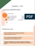 Presentasi Kasus 1 - THT G2