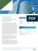 Kolkata Office Property Market Overview April 2015
