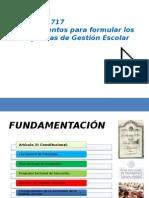 Acuerdo 717. Gestión Escolar_12!01!2015