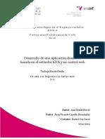 Desarrollo de Una Aplicación Domótica Basada en El Estándar KNX y Su Control Web