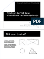 09. Centroids and Center of Gravity