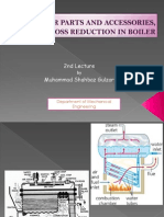 2nd Lecture- Boiler Parts & Accessories, And Heat Loss Reduction in Boiler