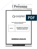 Res. Nº 065-2015-CD/OSIPTEL