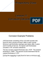 Lesson 11 Corrosion_new2 Corrosion Calculations