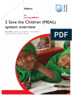 MEAL System Overview - From Save the Children
