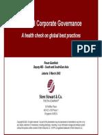 Stern Stewart - Internal Corp Gov