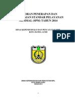Laporan SPM Pemda Aceh