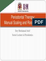 Parodontoloski instrumenti