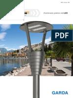 Disano - Luminaria LED GARDA para alumbrado público