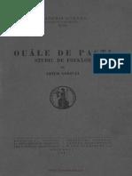 Artur Gorovei - Ouale de Pasti - Studiu de Folclor
