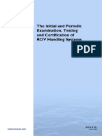 IMCA R011 ROV Handling System Guide