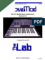 Roland SH-101 Nova Mod v2 Instructions