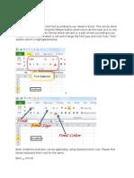 Advanced Excel 1