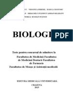 Grile Biologie Craiova 2015