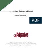 Dftadvisor Reference Manual
