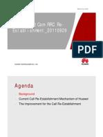 Huawei RRC Re-Establishment