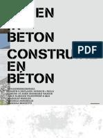 Bauen in Beton_2014/2015