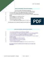 Llistat de Material de l'Alumne. Curs 2015-2016