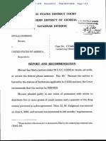 Johnson v. United States Of America - Document No. 2