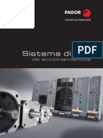 Fagor Digital Servo Drive Systems Catalog Spanish1