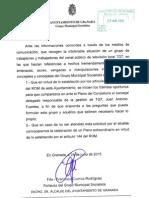 Comisión de Control TG7 Granada