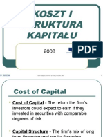 Cost of Capital Lecture -Kisk