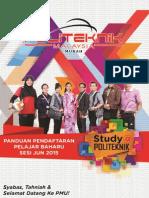 Panduan Pendaftaran Pelajar Baharu Jun2015
