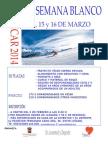 Cartel 2014 Esqui