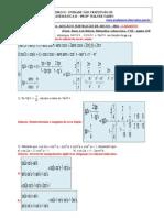 Adição e Subtração de Arcos – 2011 - Gabarito