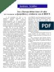 Instituto Schiller - Petición / Para el abandono de la geopolítica y la colaboración con los BRICS
