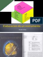 Elaboración de Un Instrumento