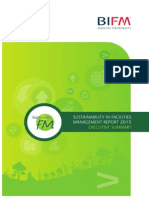 BIFM  Sustainability in FM Survey (Executive Summary)
