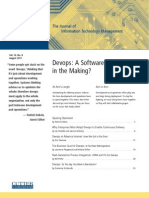 Devops a Software Revolution