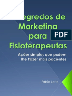 7 Segredos de Marketing Para Fisioterapeutas