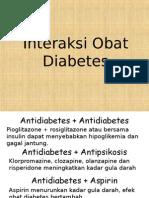 Interaksi Obat Diabetes