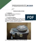 Análise de falha em eixo de compressor rotativo