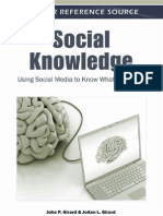John P. Girard and JoAnn L. Girard - Social Knowledge