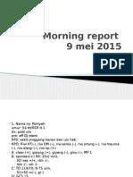 Morning report SABTU OK X 9 MEI.pptx
