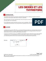 Diodes Et Thyristors