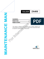 Maintenance Manual ZAL40S Int Use