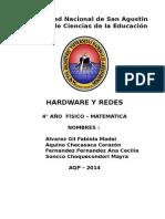 Proyecto de Hardward y Redes
