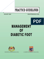 CPG Management of Diabetic Foot